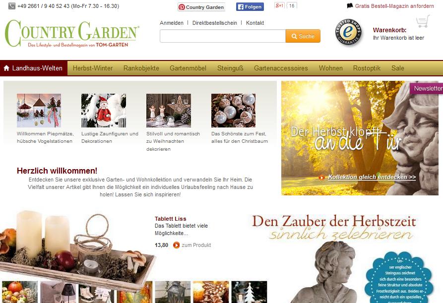 country-garden.de Gutschein