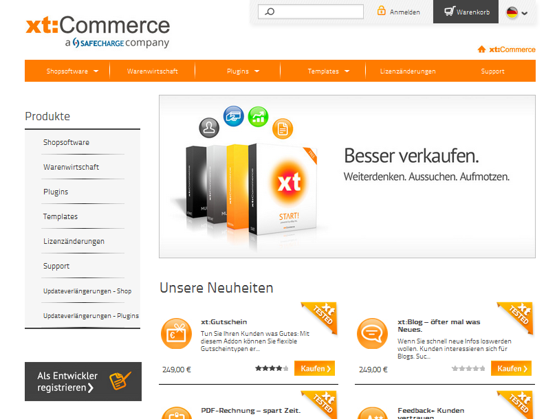 xt-commerce.com Gutschein