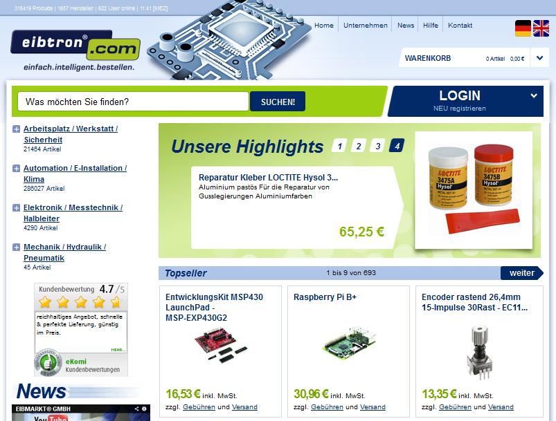 eibtron.com Gutschein