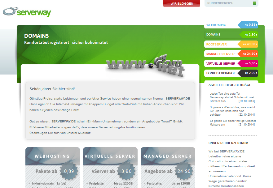 serverway.de Gutschein