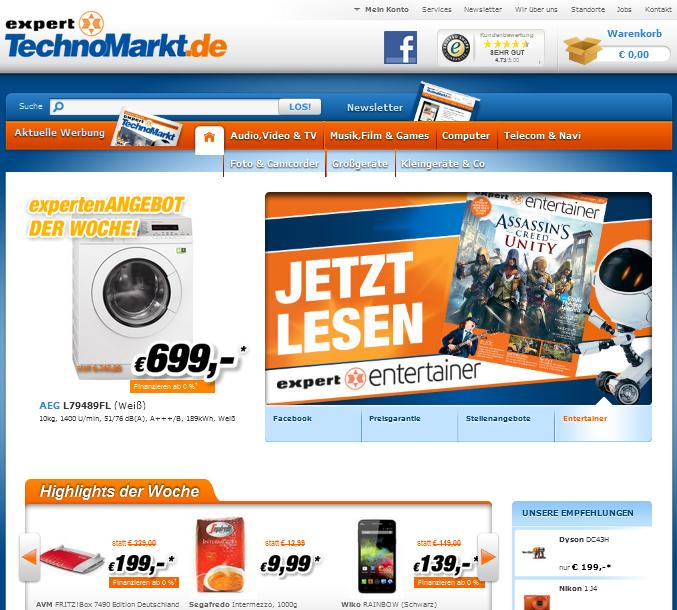 expert-TechnoMarkt Gutschein