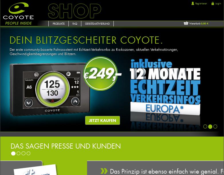 coyote-shop.de Gutschein