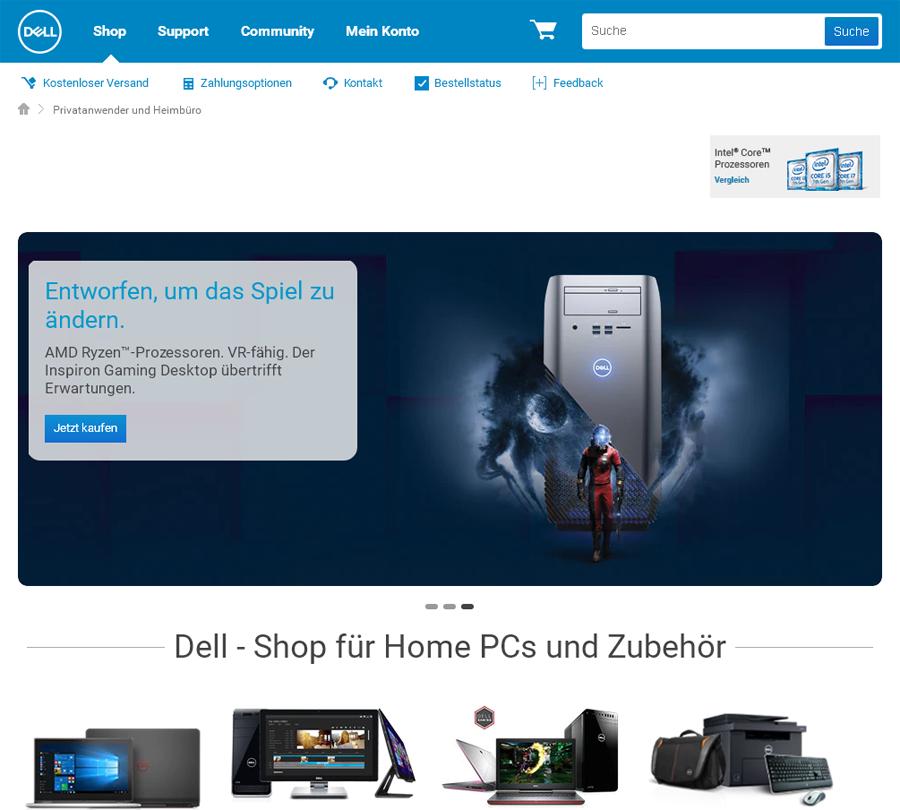 Dell Privatkunden Gutschein