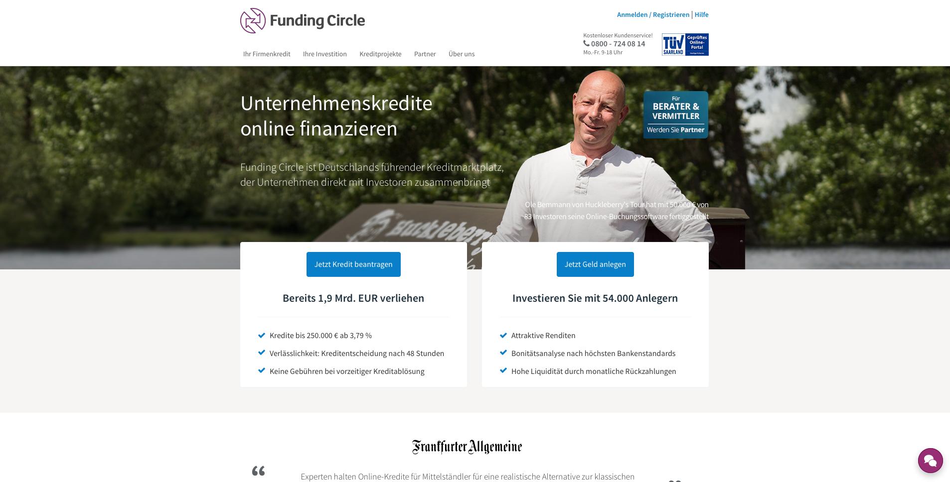 Funding Circle Gutschein