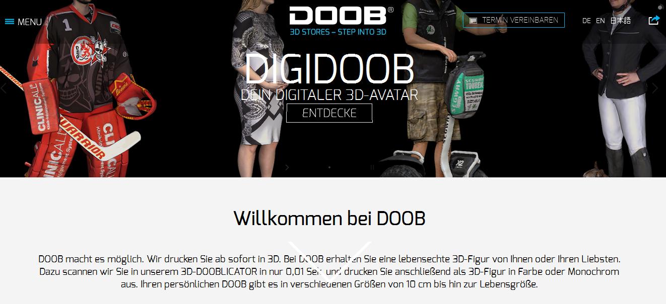 Doob-3d.de  Gutschein