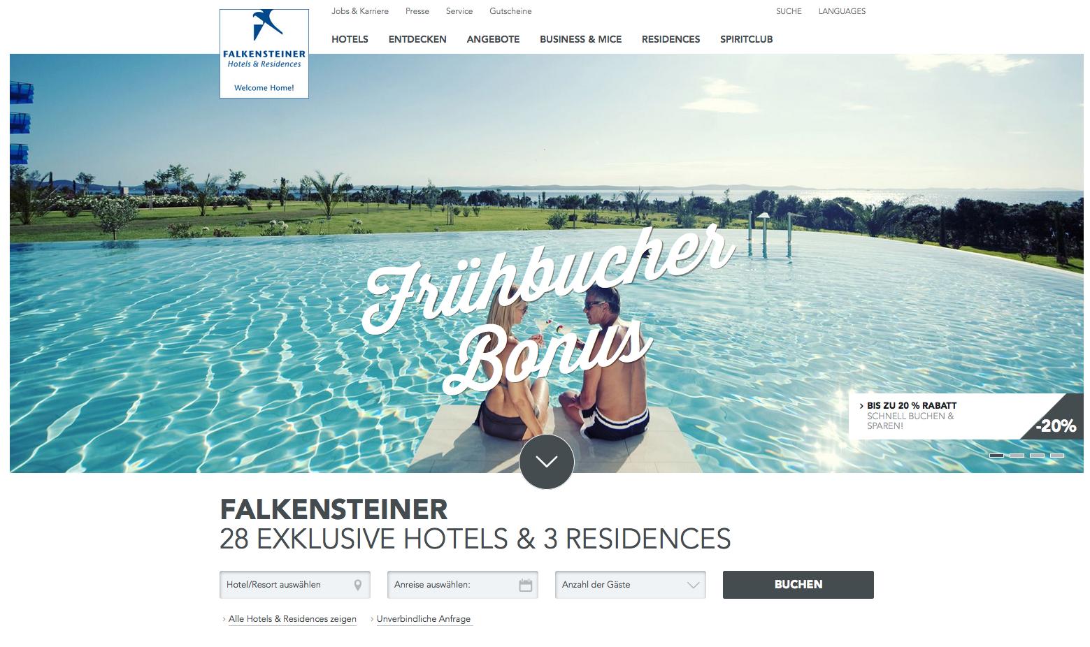 Falkensteiner Hotels & Residences  Gutschein