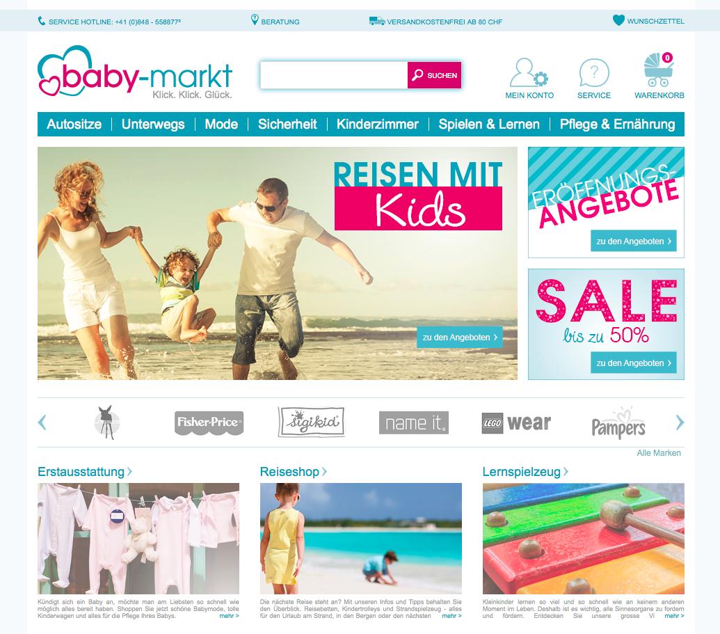 baby-markt.ch Gutschein