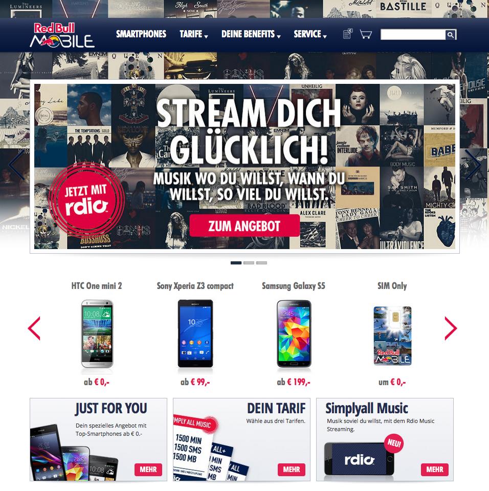 Red Bull MOBILE Gutschein