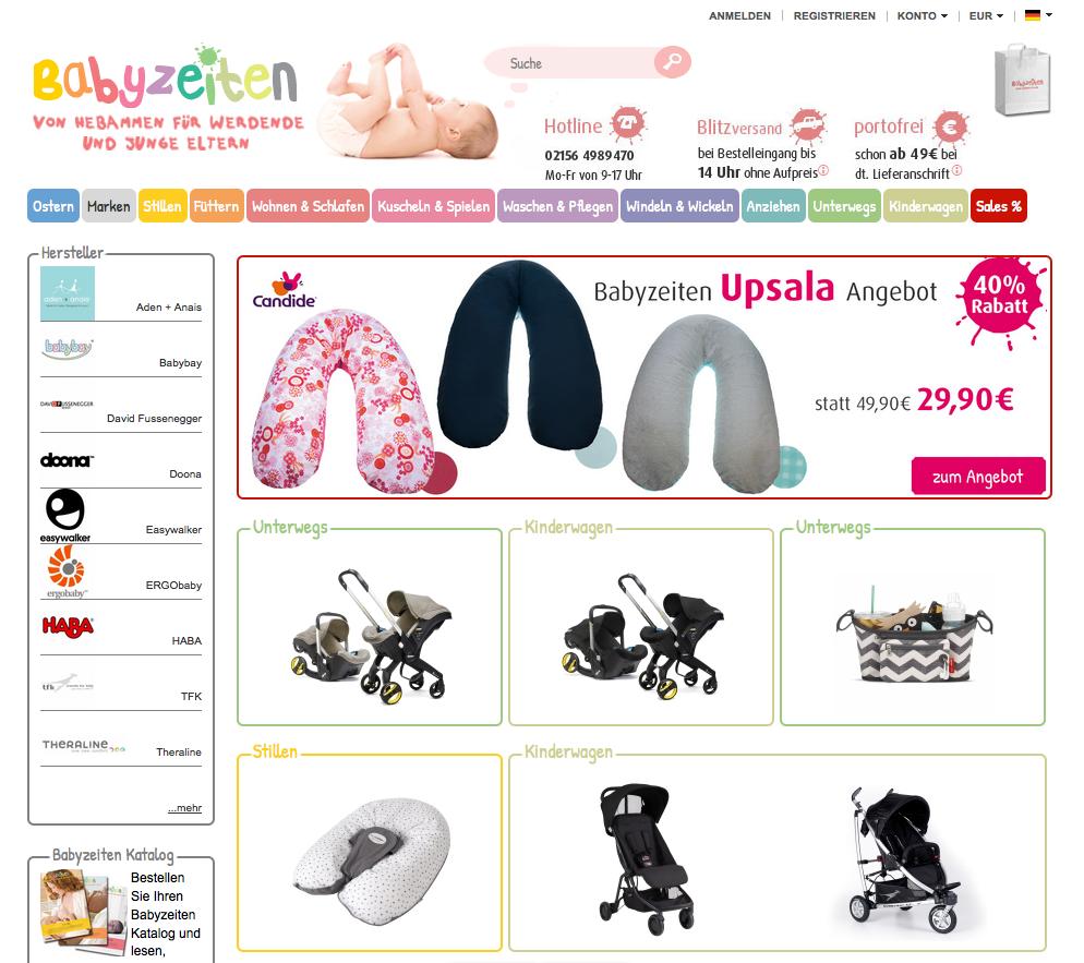 Babyzeiten Gutschein