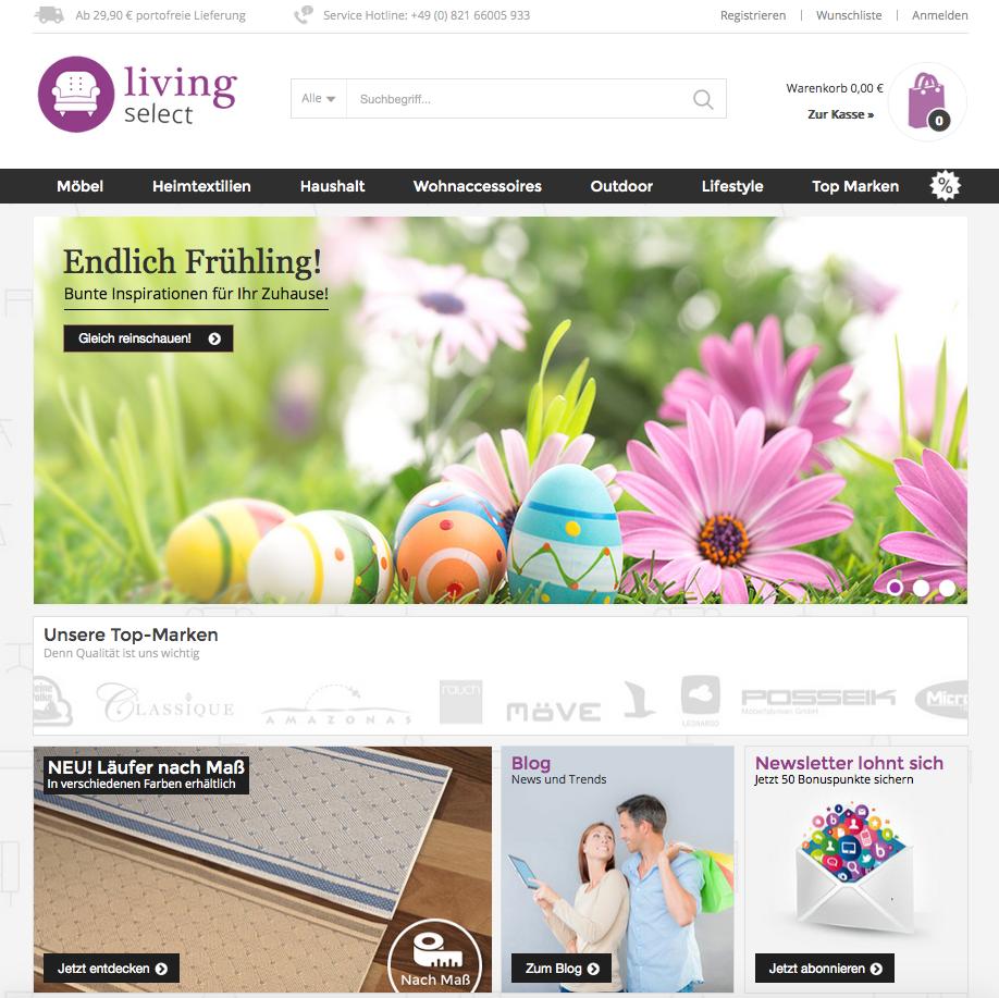 LivingSelect.com Gutschein