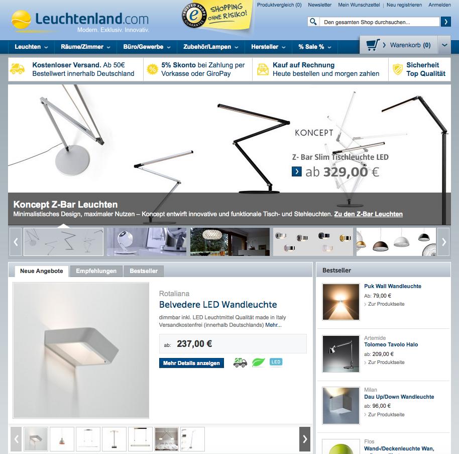 Leuchtenland.com Gutschein