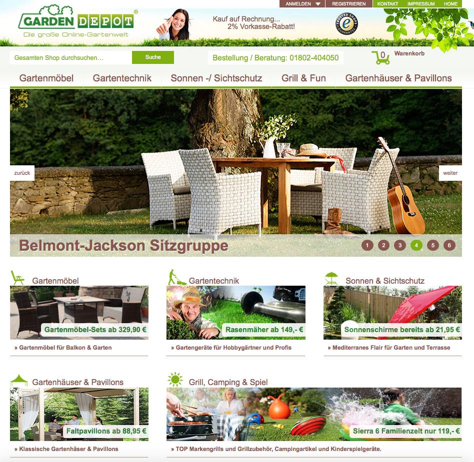 GardenDEPOT Gutschein