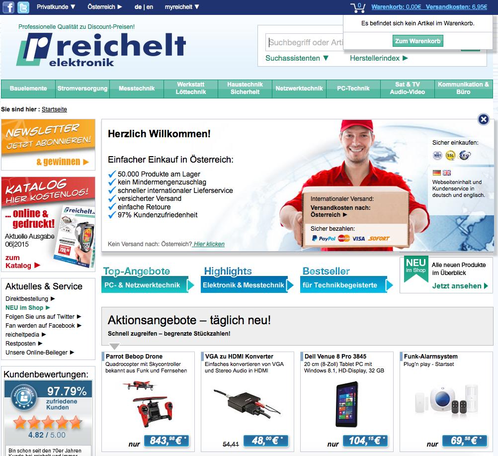 Reichelt Elektronik AT Gutschein