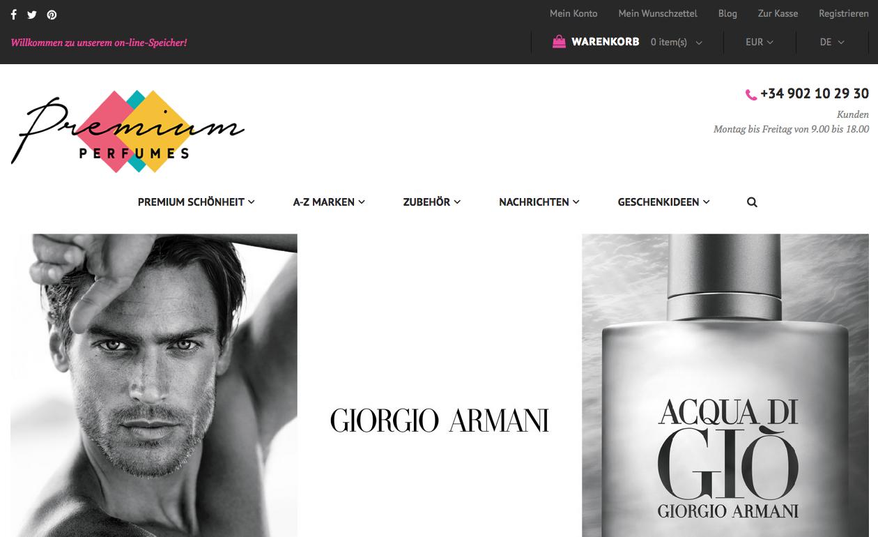 Perfumes Premium Gutschein