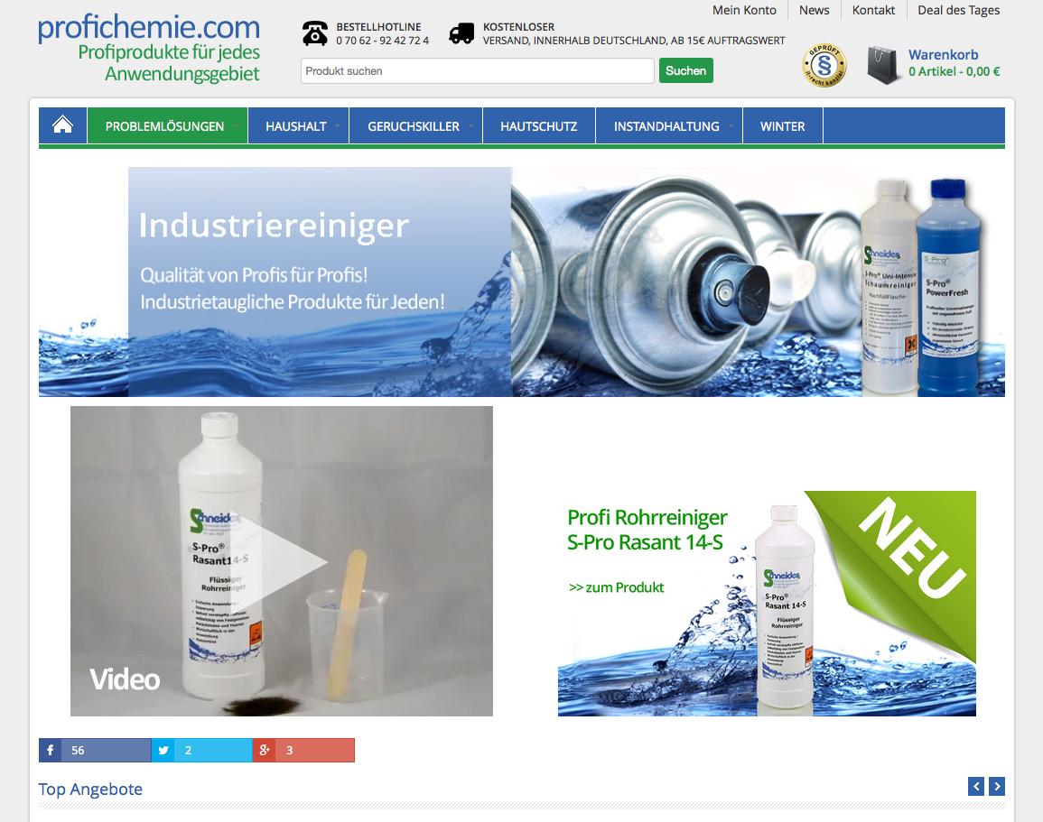 Profichemie.com Gutschein