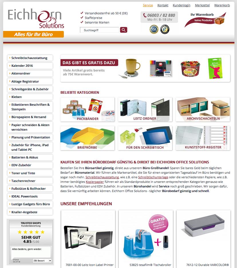 Eichhorn Solutions Gutschein