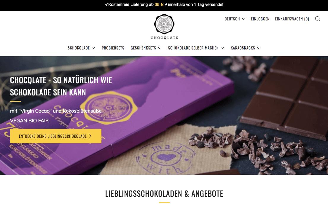 chocqlate.com Gutschein
