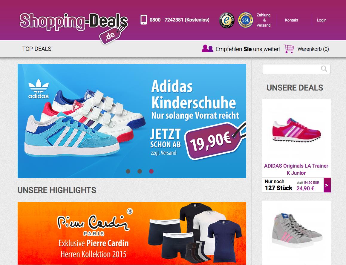 Shopping-Deals.de Gutschein