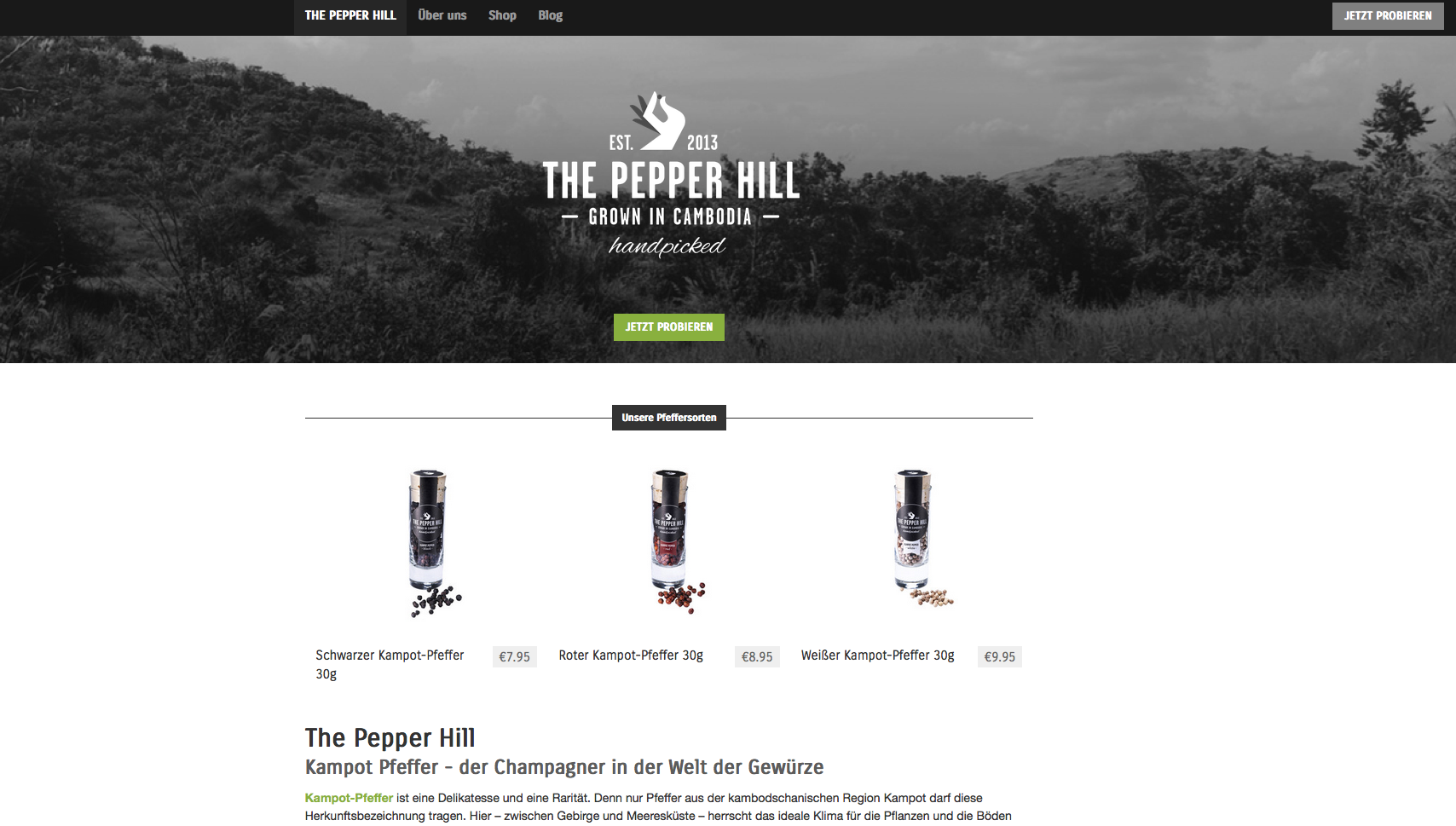 The Pepper Hill Gutschein