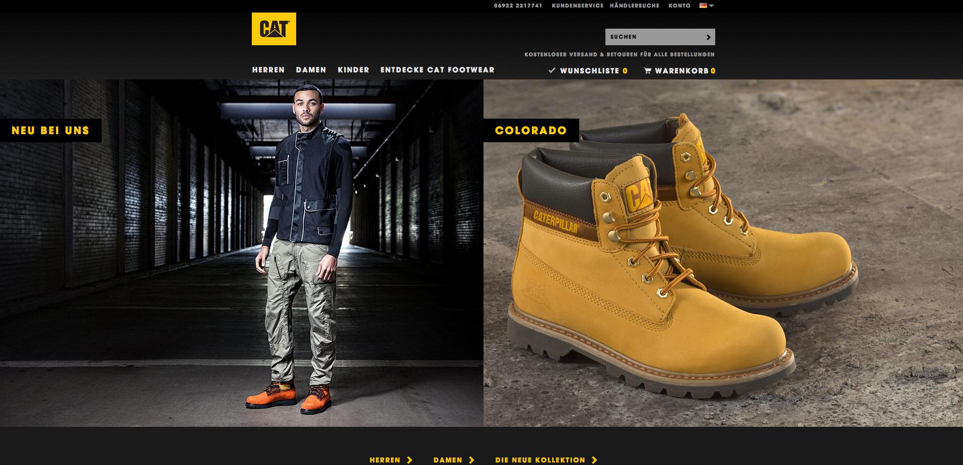 Cat Footwear Gutschein