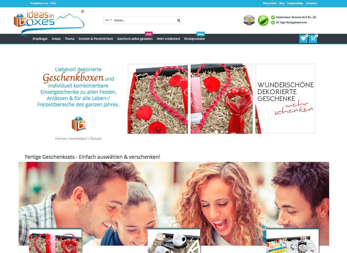 Ideas-in-boxes.com Gutschein