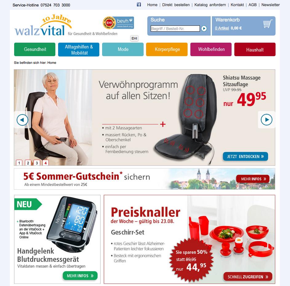 WalzVital Gutschein