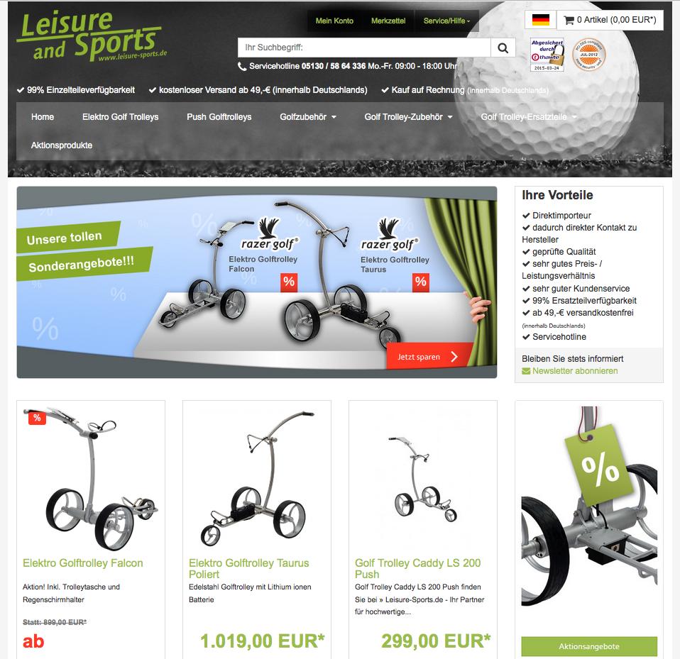 leisure-sports.de Gutschein