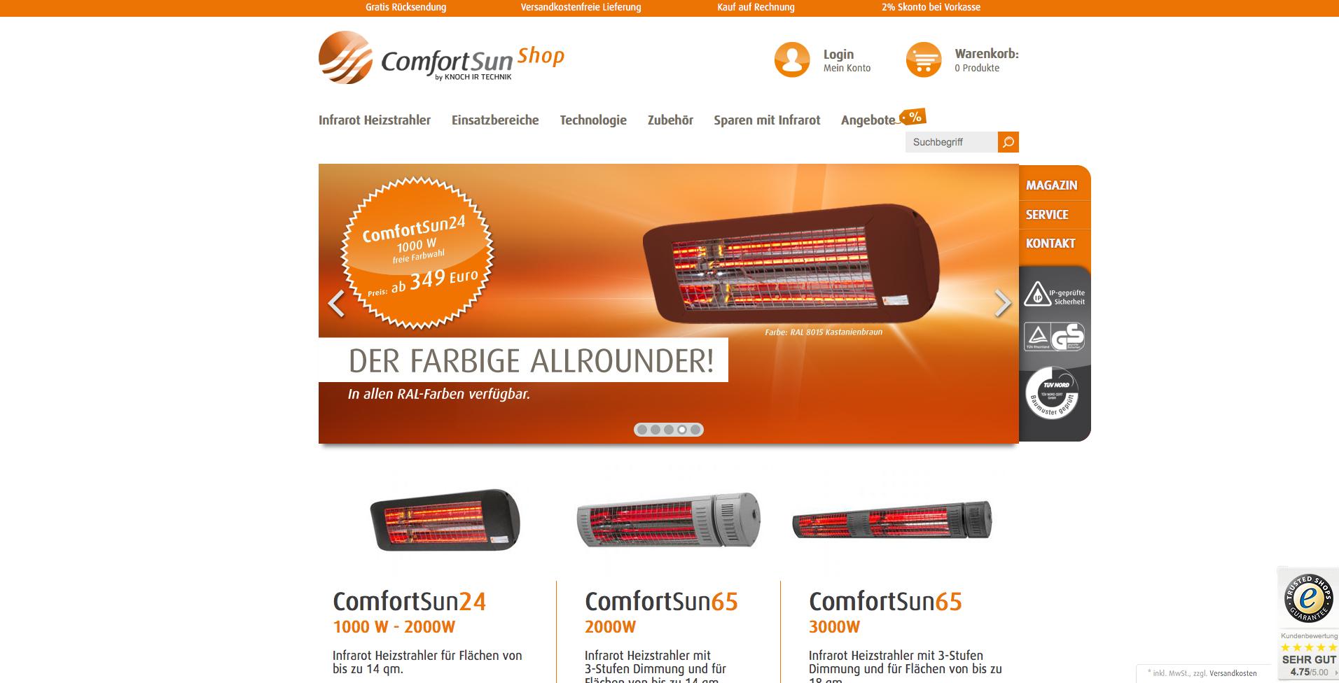 ComfortSun Gutschein