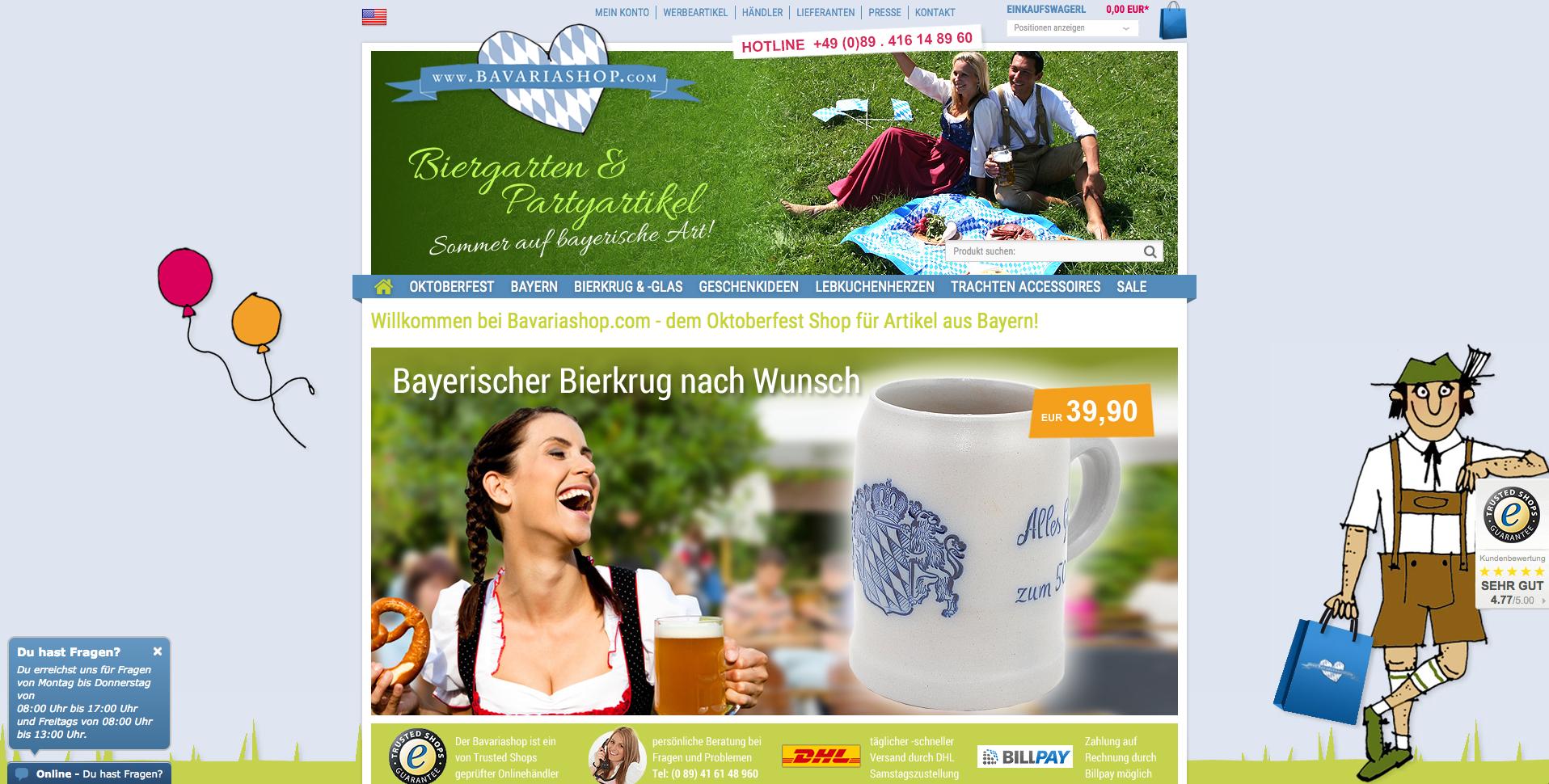Bavariashop Gutschein