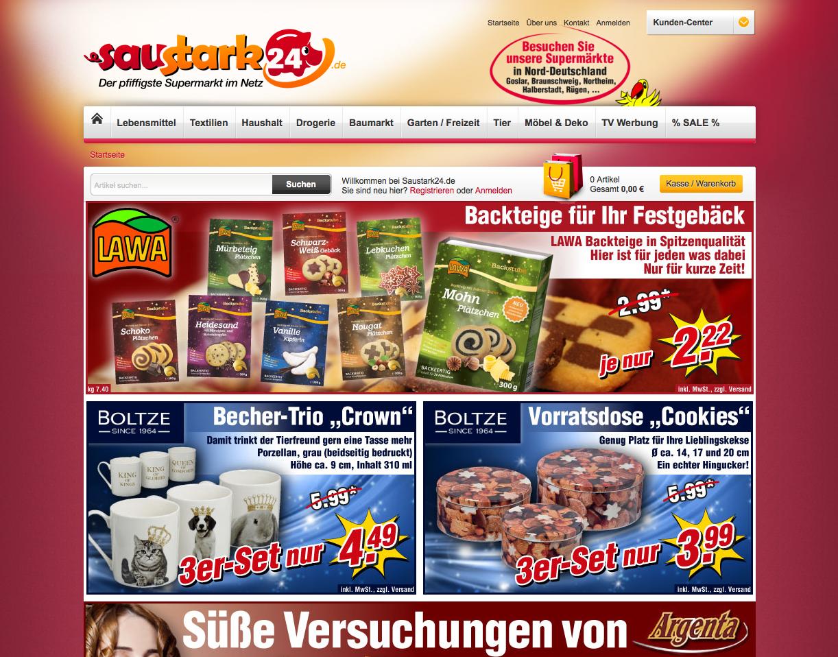 Saustark24.de Gutschein