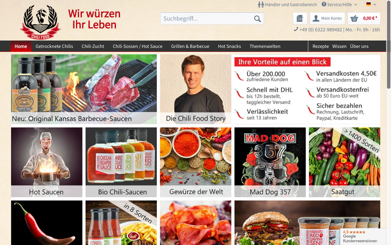 chili-shop24.de Gutschein