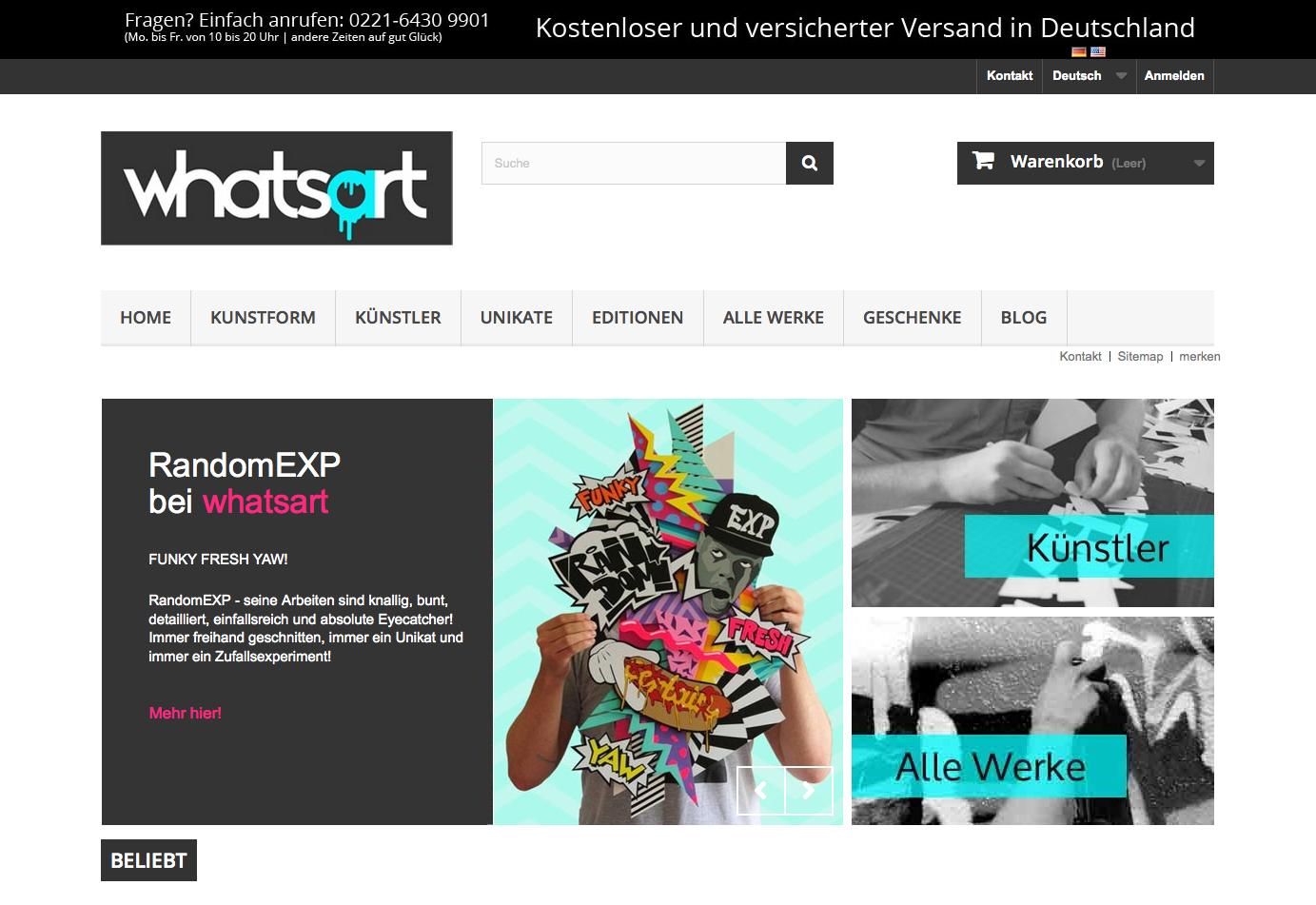 whatsart.de Gutschein