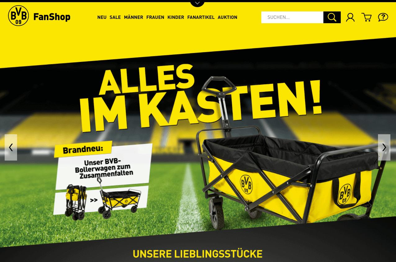BVBFanshop.com Gutschein
