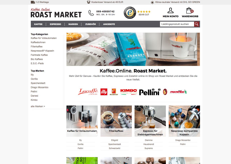 Roast Market Gutschein