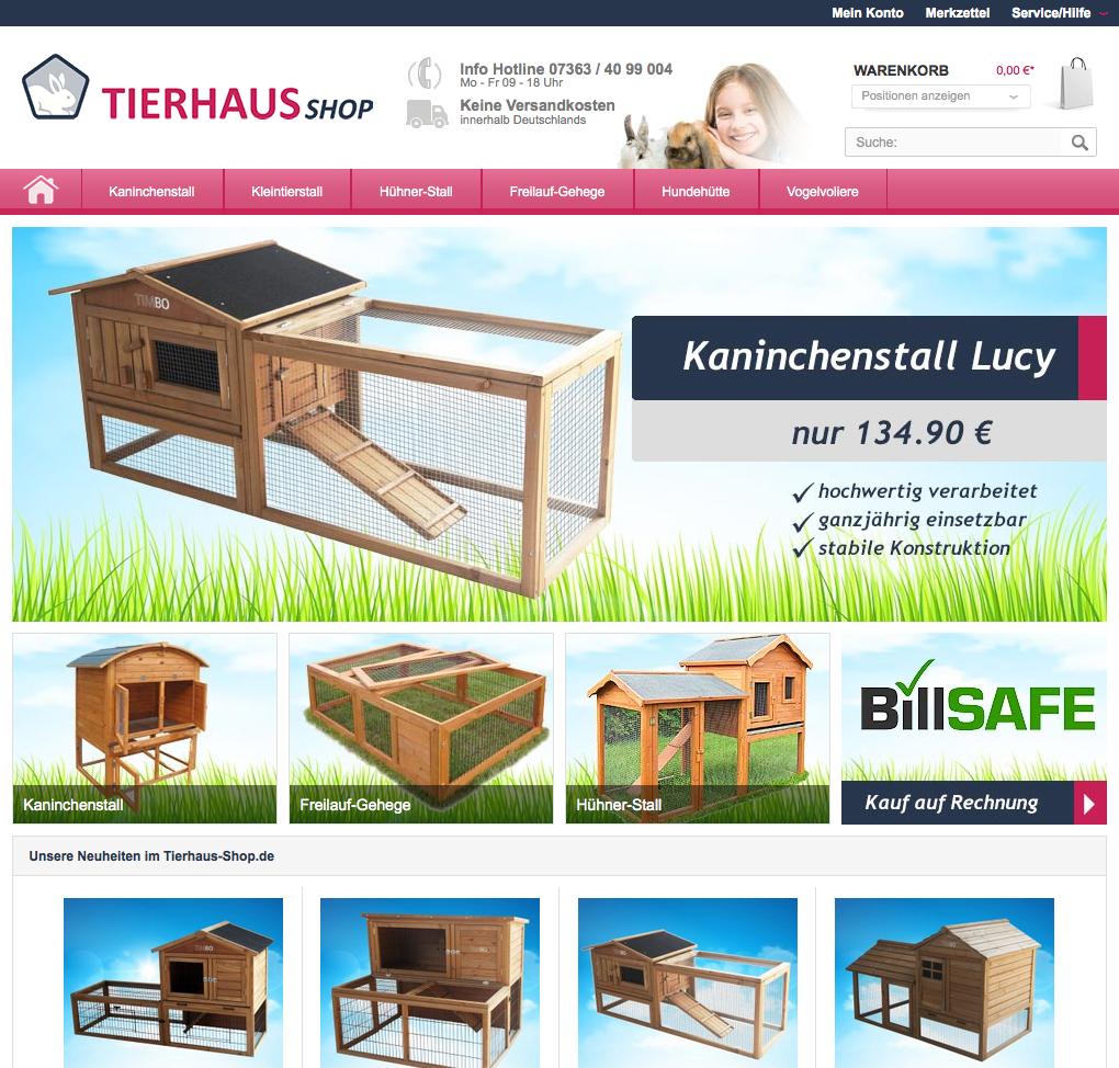 Tierhaus-Shop.de Gutschein