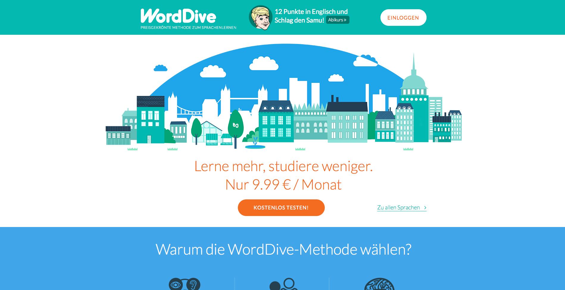 WordDive Gutschein