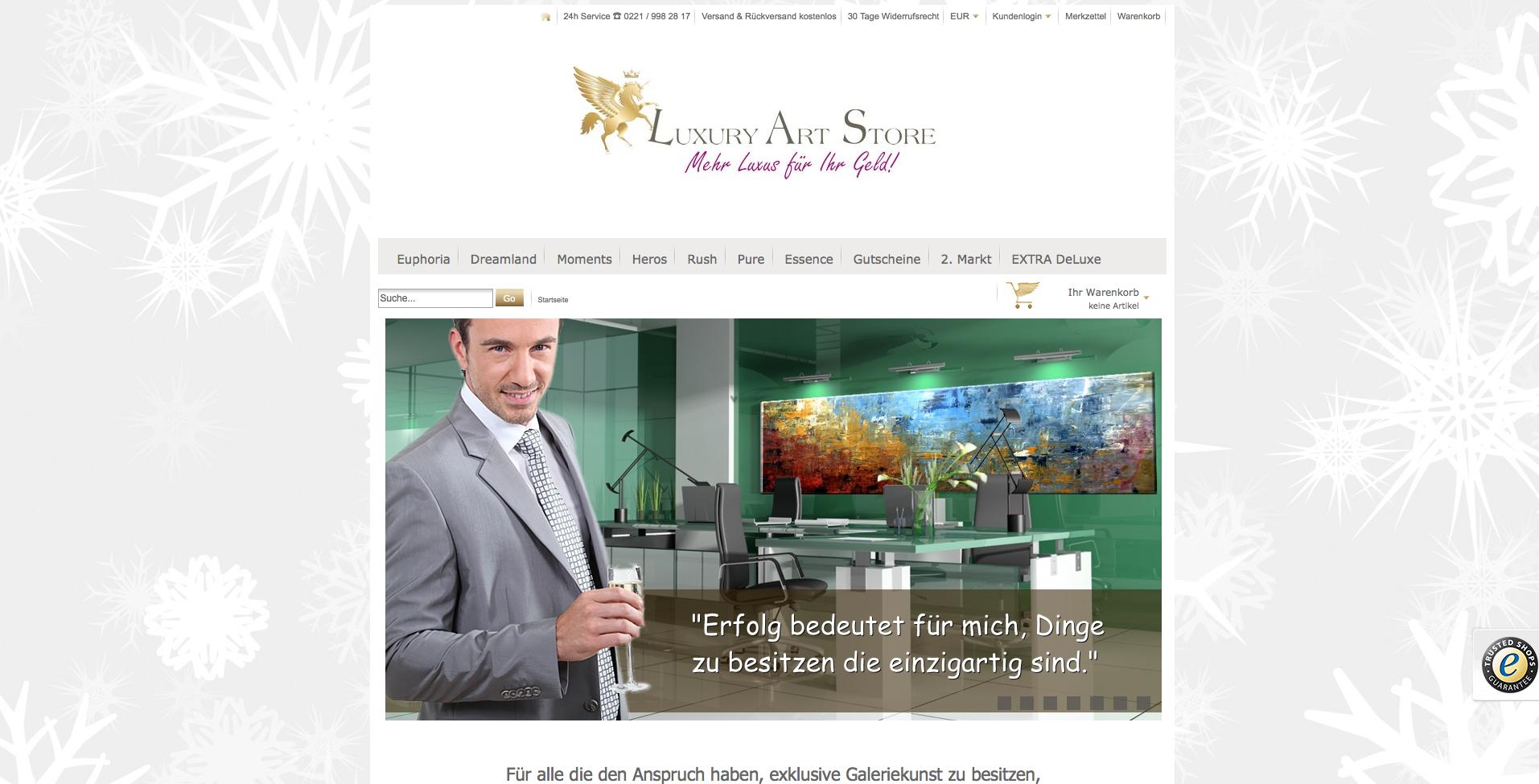 Luxury Art Store Gutschein