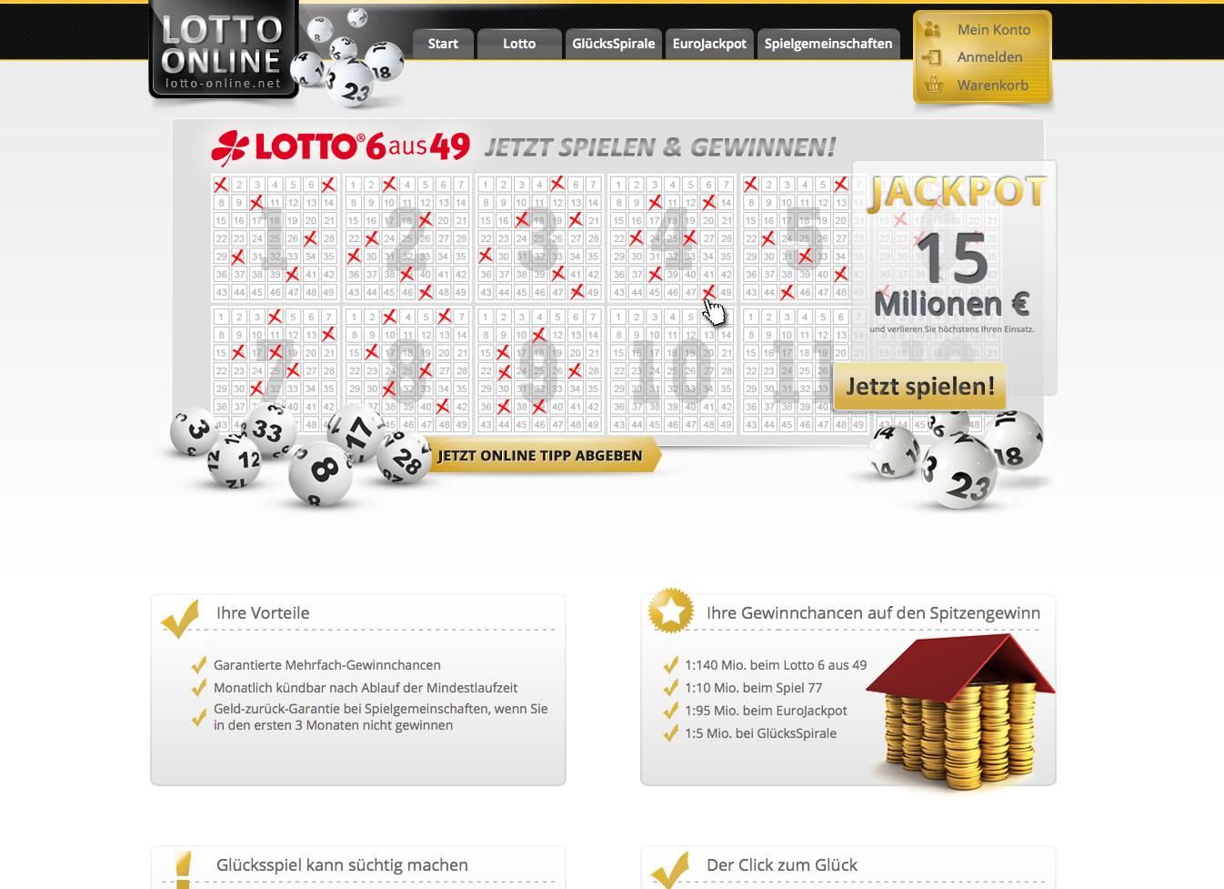 Lotto-online.net Gutschein
