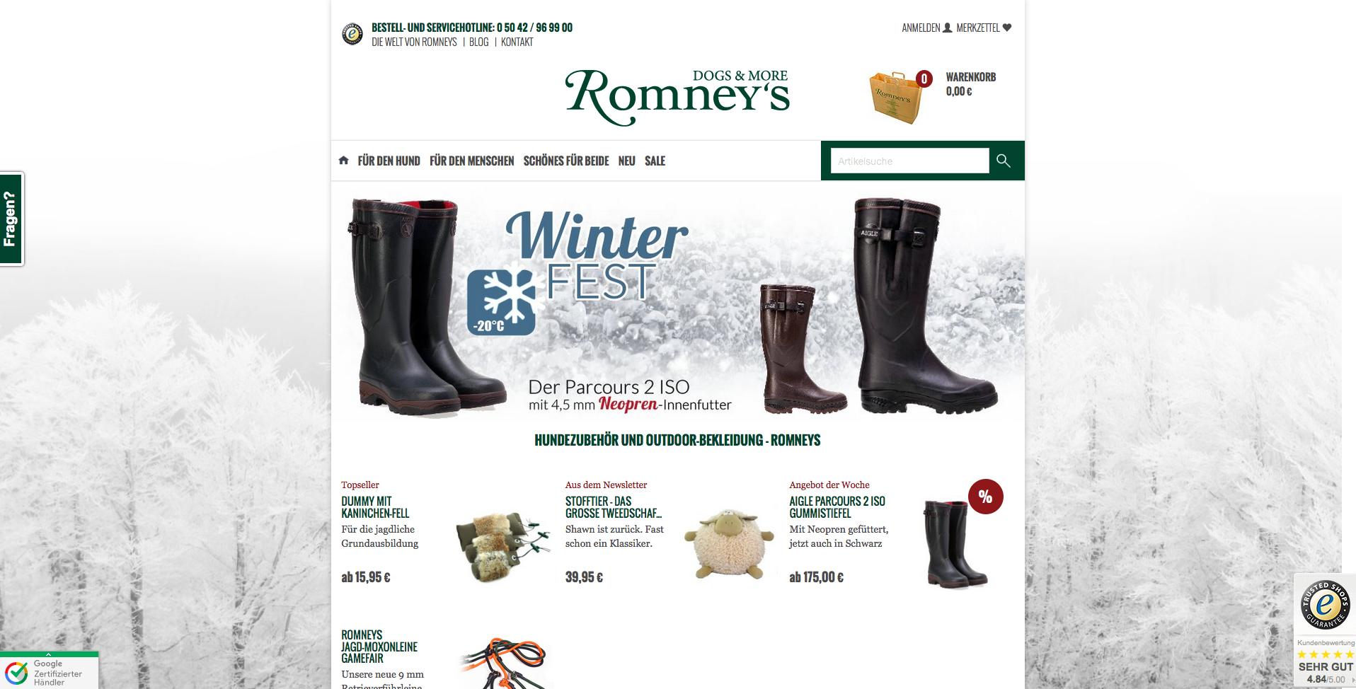 Romneys Gutschein