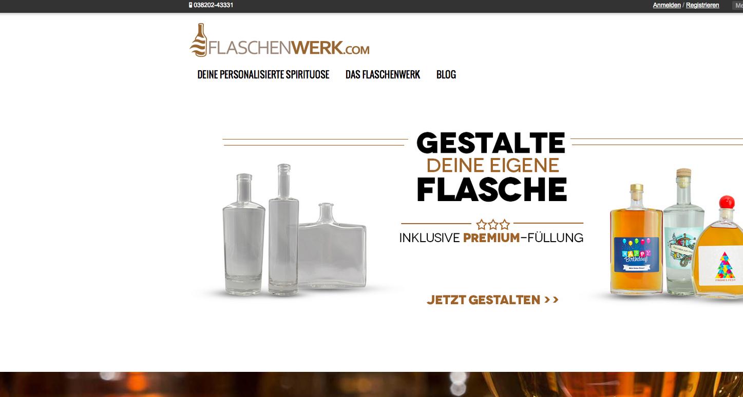 FLASCHENWERK Gutschein
