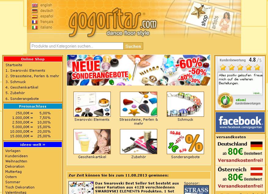 gogoritas Gutschein