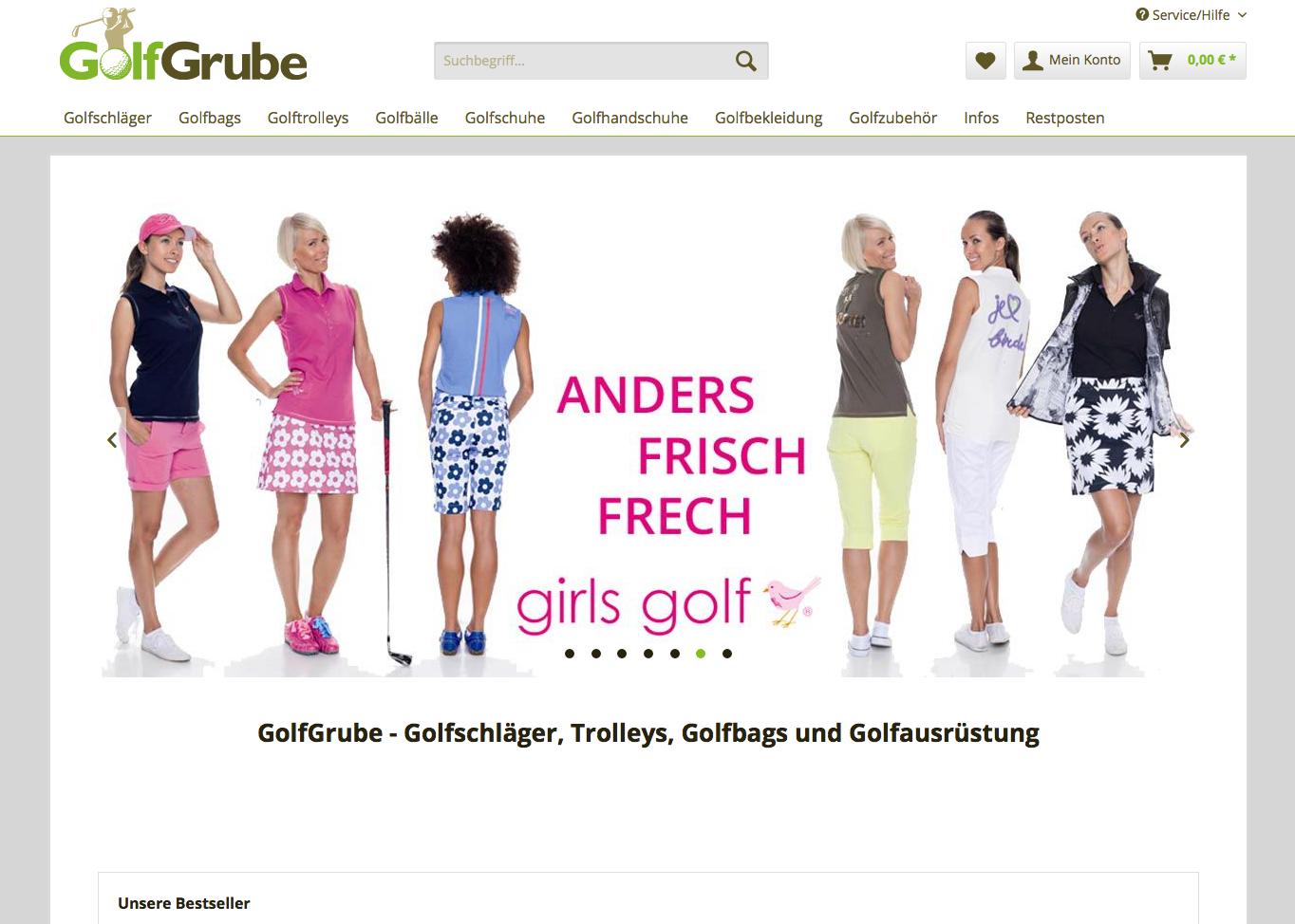 GolfGrube Gutschein
