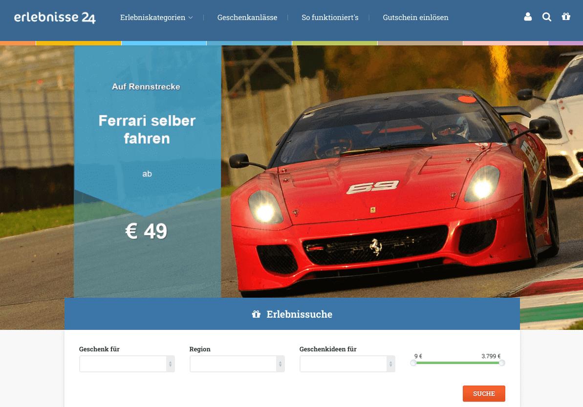 erlebnisse24.com Gutschein