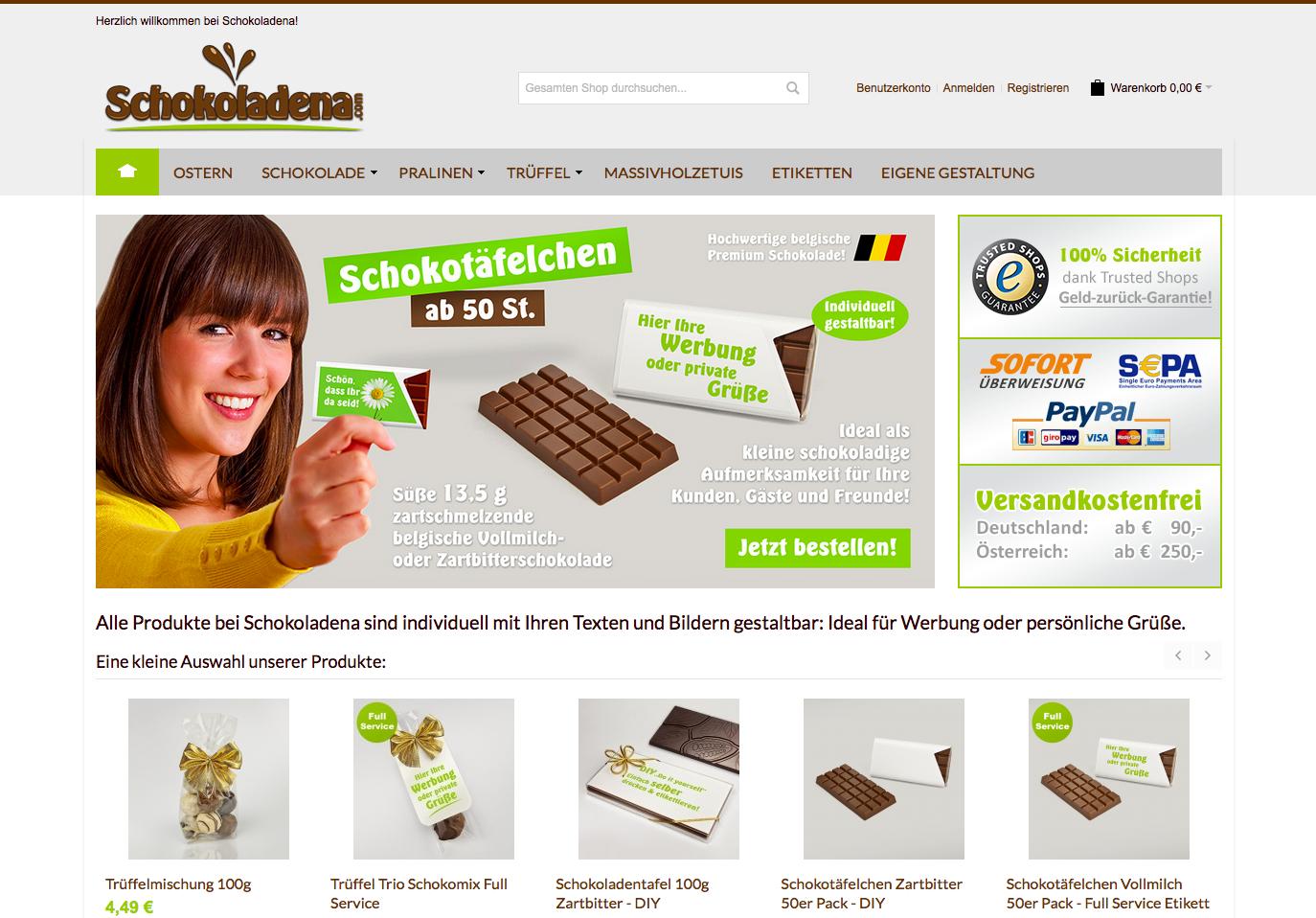 Schokoladena Gutschein