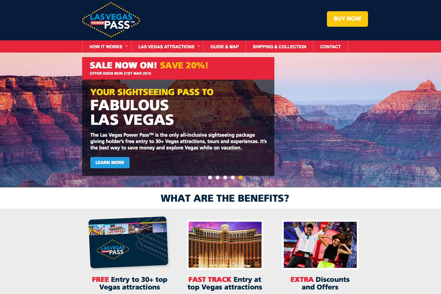 Las Vegas Pass Gutschein