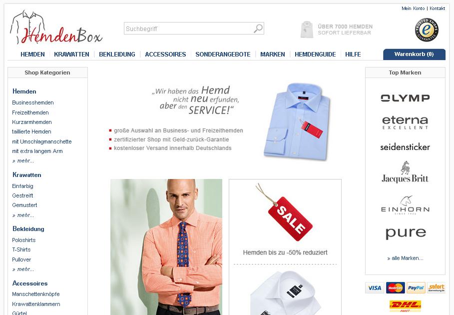 Hemdenbox.de Gutschein