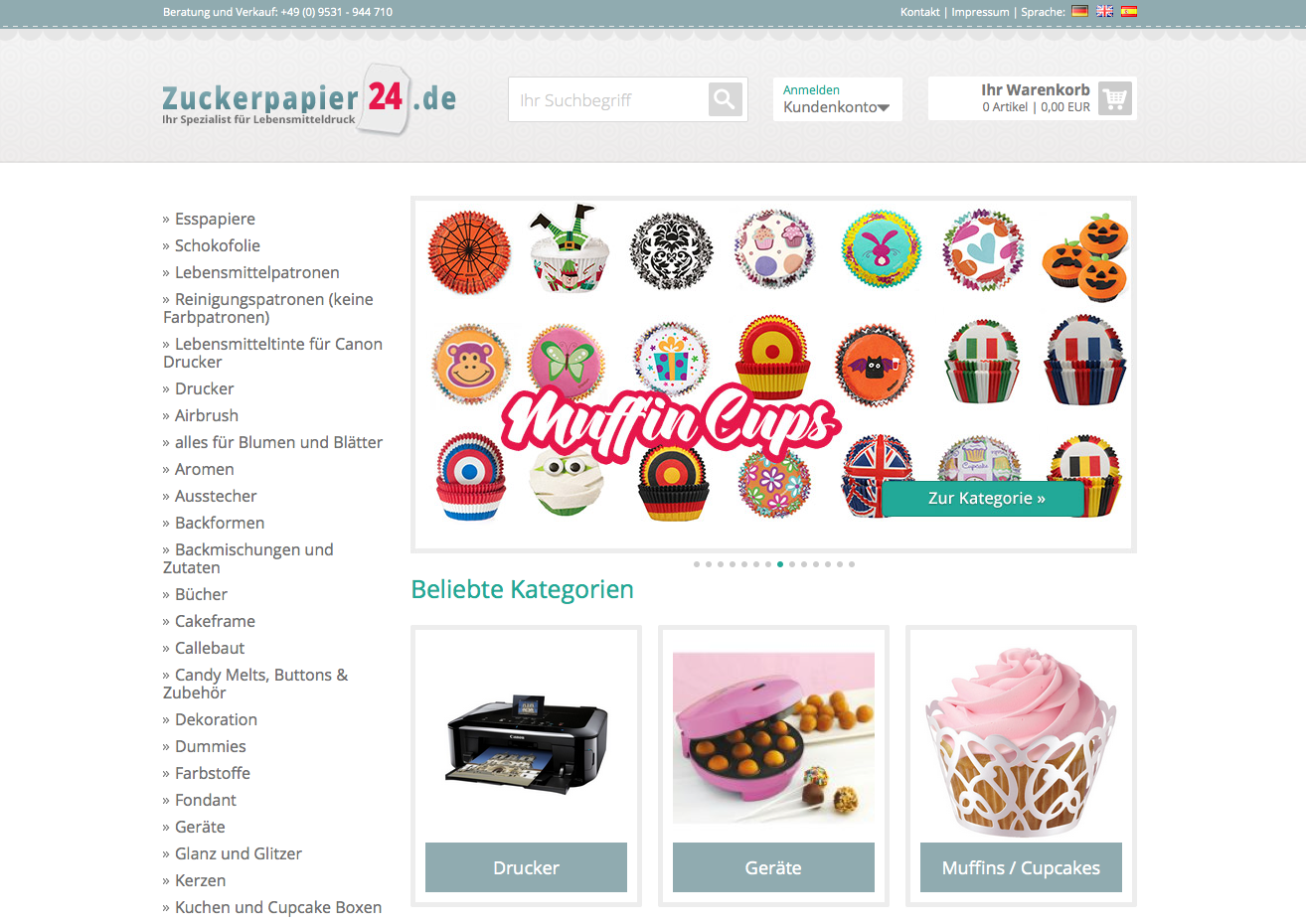 Zuckerpapier24.de Gutschein