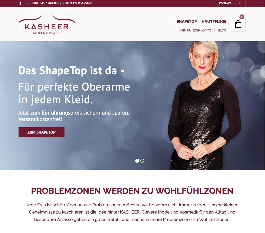 Kasheer Gutschein