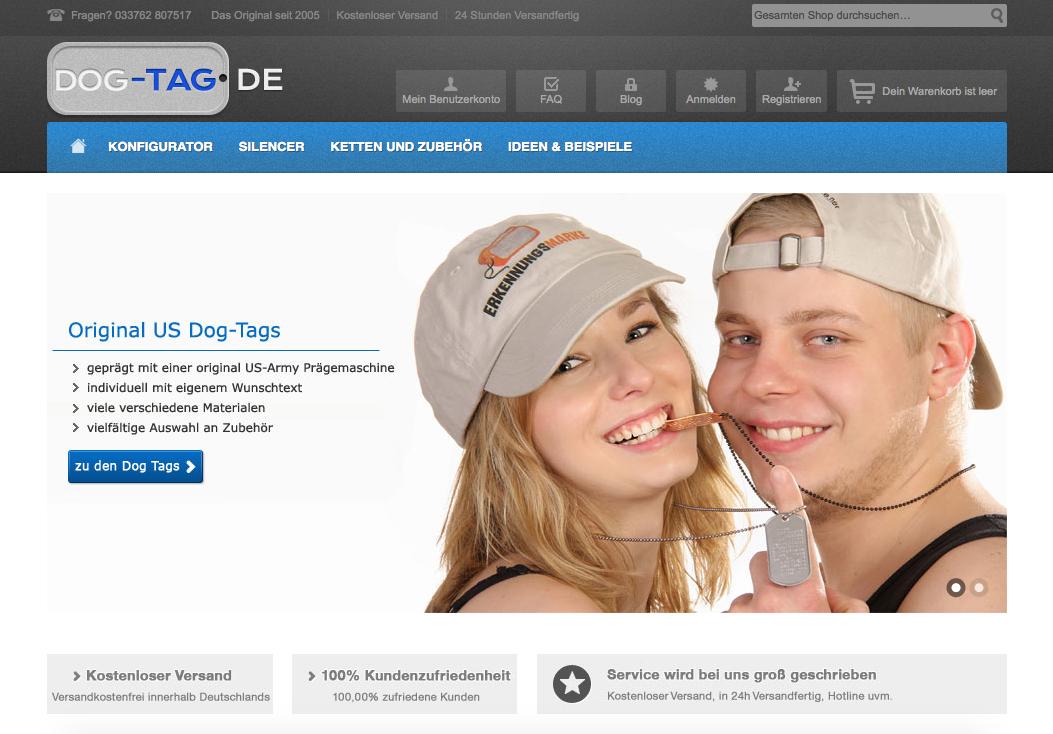 dog-tag.de Gutschein