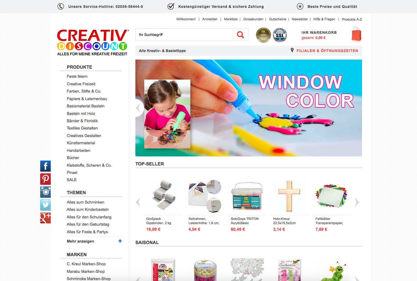 Creativ-Discount.de Gutschein